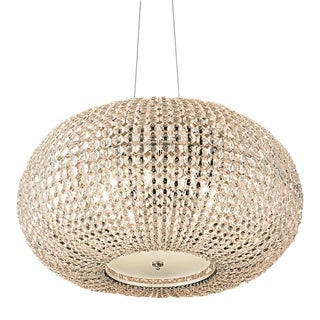 Large Sparkle Chandelier For Sale