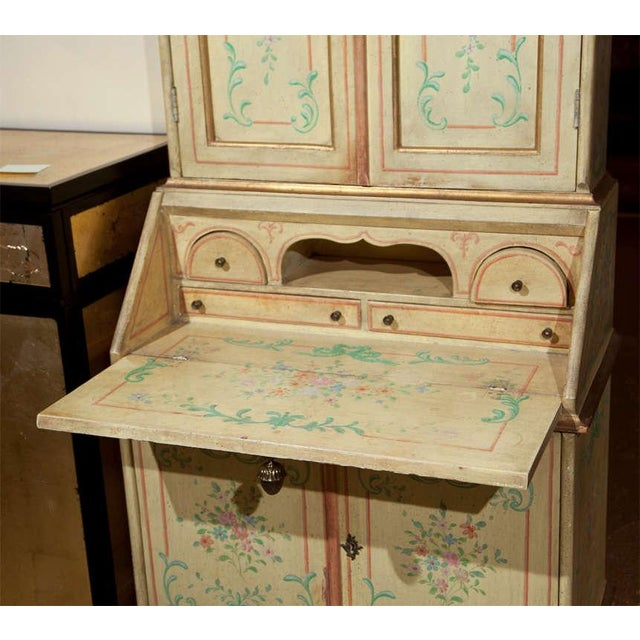 Venetian-Style Painted Secretary For Sale In New York - Image 6 of 9