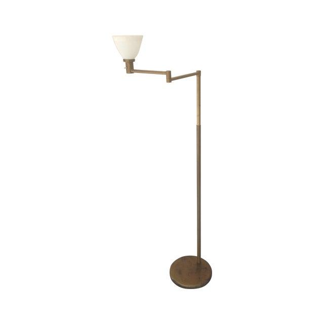 Nessen Studios Adjustable Swing Arm Floor Lamp - Image 1 of 7