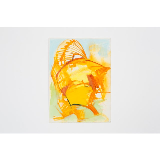 """Abstract Ted Stanuga, """"Brush Fire"""" For Sale - Image 3 of 7"""