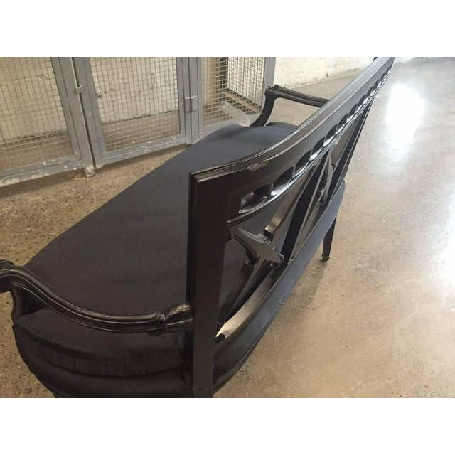 Metal Two Louis XIV Style Loveseats For Sale - Image 7 of 9