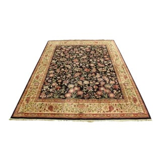 Contemporary Traditional Nylon Rectangular Area Rug Shaw For Sale