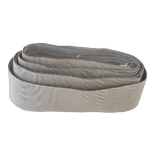 Samuel & Sons Pale Grey Grosgrain Ribbon Trim - 5 Yards