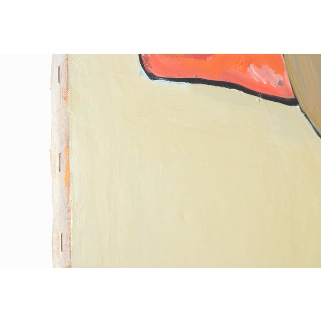 """1989 """"Monument"""" Abstract Painting by Fay Singer For Sale - Image 4 of 5"""