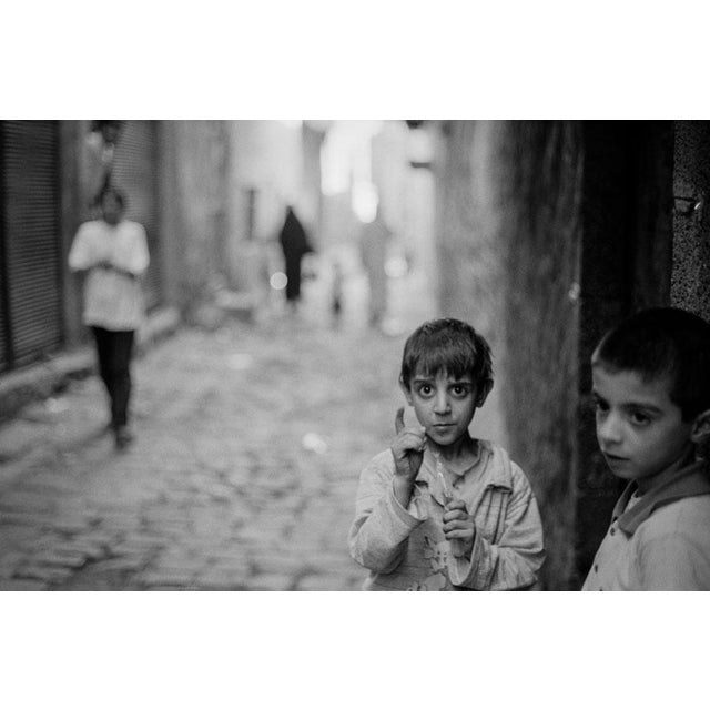 "Black & White Photo ""Diyarbark Warning"", Turkey 2002 - Image 1 of 3"