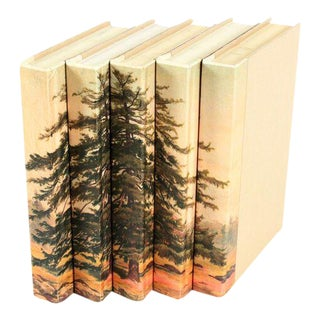 Image Collection Spruce Tree Books Books - Set of 5 For Sale