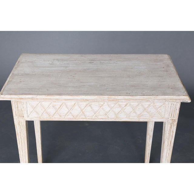 19th Century Swedish Painted Table - Image 3 of 8