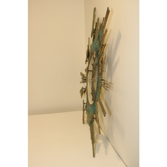 1980s Curtis Jere Retro Modern Abstract Wall Sculpture For Sale - Image 12 of 13