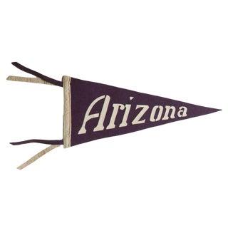 Vintage Arizona Felt Flag Pennant