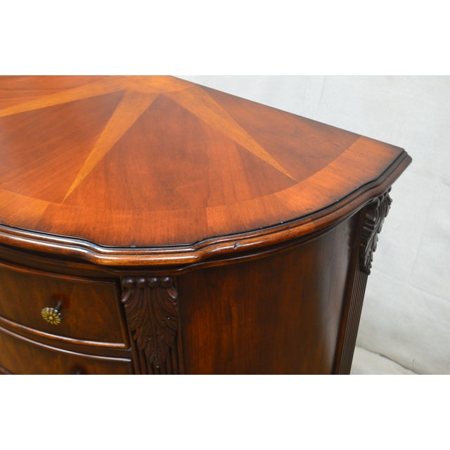 Traditional Hooker Furniture Seven Seas Collection Demilune Chest of Drawers For Sale - Image 3 of 13