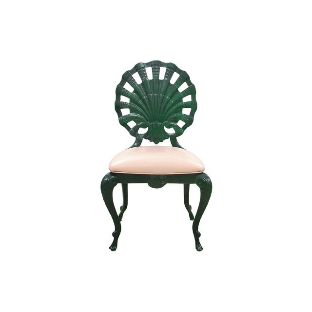 """Contemporary 1950s Vintage Venman Furniture Aluminum """"Grotto"""" Shell Chairs - a Set of 4 For Sale - Image 3 of 11"""