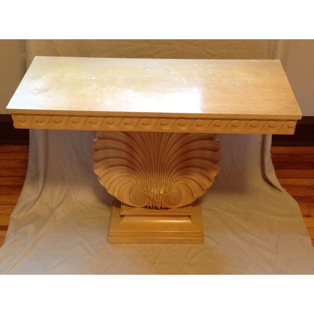 Edward Wormley for Dunbar Shell Console Table For Sale - Image 5 of 7