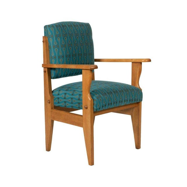 Guillerme et Chambron Robert Guillerme & Jacques Chambron Armchair For Sale - Image 4 of 4