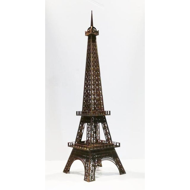 2010s Laser Cut Eiffel Tower For Sale - Image 5 of 5
