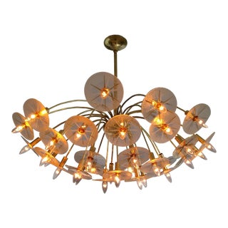 Lightolier Sputnik Starburst Stilnovo Arredoluce Chandelier For Sale