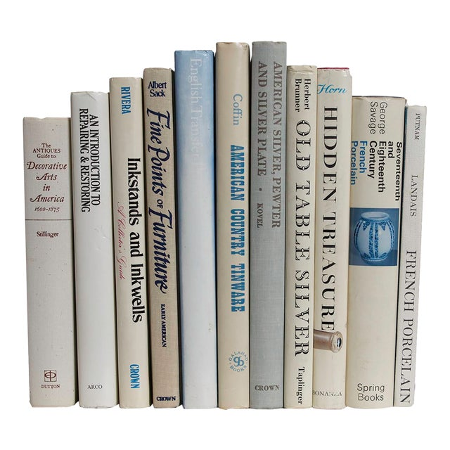 Antique Collecting Book Set - Set of 11 For Sale