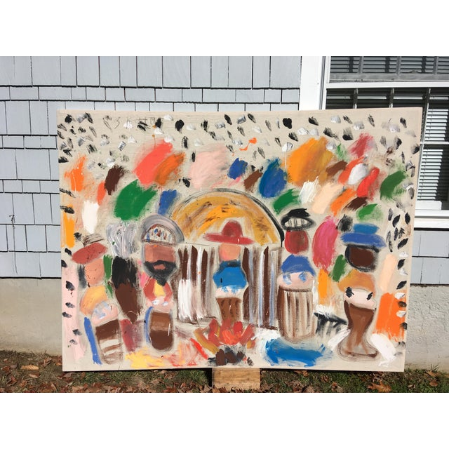 'Bando' Painting by Sean Kratzert For Sale In New York - Image 6 of 6