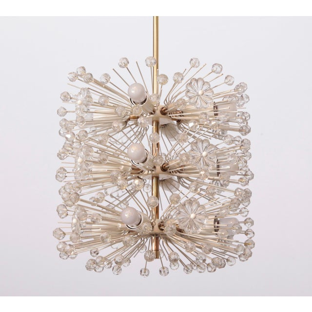 Sputnik Chandelier Dandelion by Emil Stejnar, Vienna Austria, Circa 1955 For Sale - Image 6 of 6