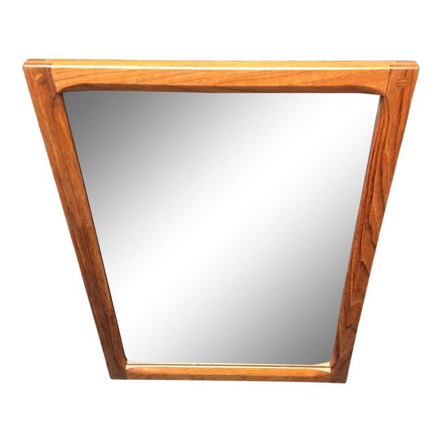 1960's Vintage Askel Kjersgaard for Odder Denmark Teak Mirror For Sale