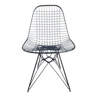 Herman Miller Eames Vintage Wire Chair Eiffel Original For Sale
