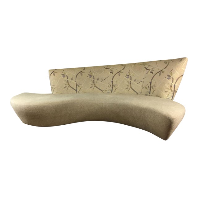 Vladimir Kagan Biboa Serpentine Sofa - Image 1 of 10