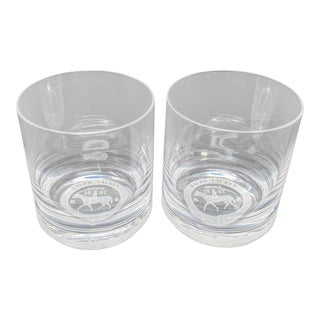 Ralph Lauren Home Old Fashion Glasses - Set of 2 For Sale