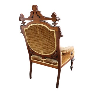 Victorian Parlor Chair For Sale
