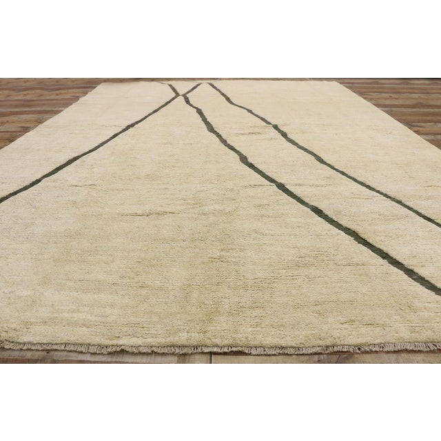 Textile 80523 Contemporary Moroccan Area Rug - 10'02 X 13'10 For Sale - Image 7 of 10