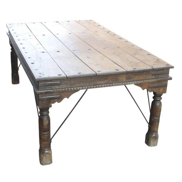 19th C. Takhat Table For Sale - Image 4 of 7