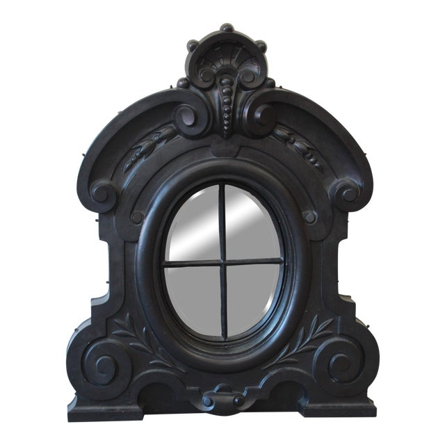 19th Century Antique French Cast Iron Dormer For Sale