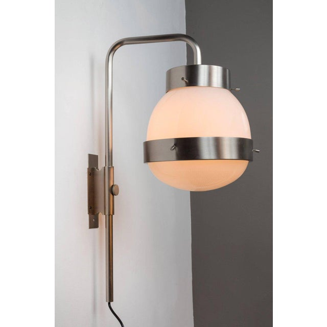 Artemide 1960s Sergio Mazza 'Delta' Wall Lights for Artemide - a Pair For Sale - Image 4 of 10