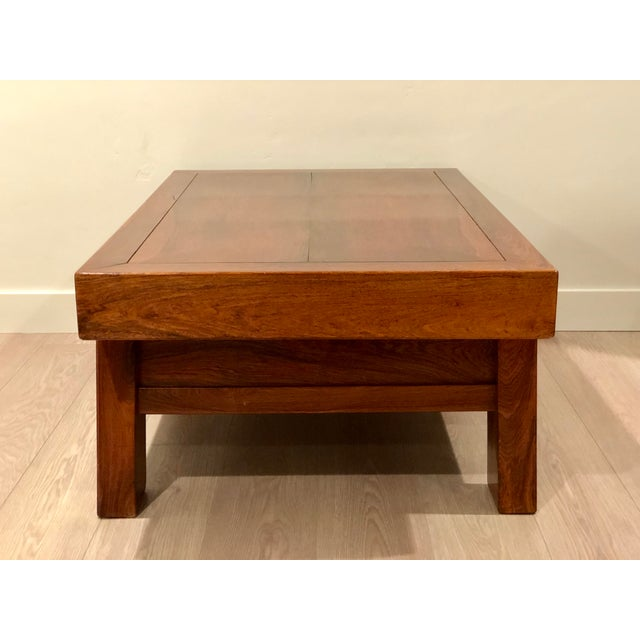 Chinese Huanghuali Rosewood Coffee Table - Image 5 of 11