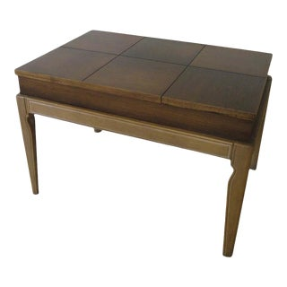 Drexel Mid Century Limed Legs Lift Top Coffee/ Side Table by John Van Koert for Drexel For Sale