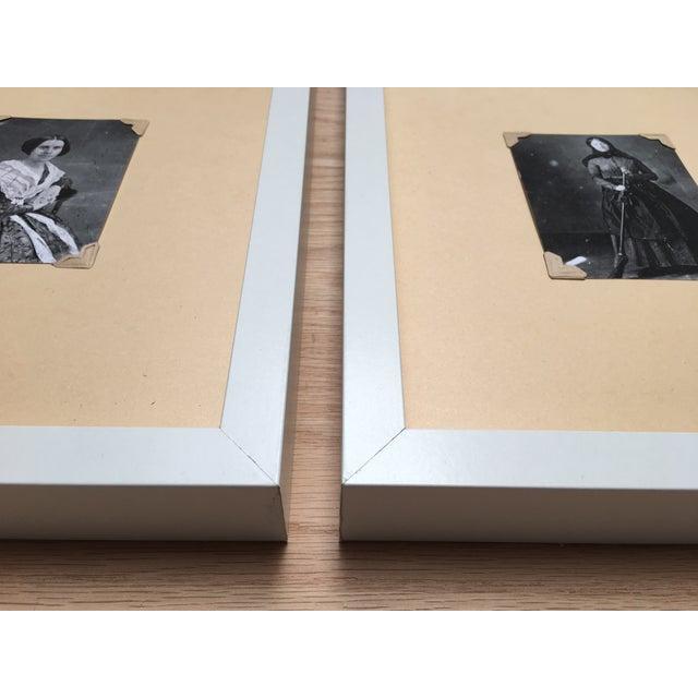 Vintage Framed Daguerreotype Prints - Set of 3 - Image 7 of 7