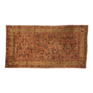 Antique Irish Donegal Rug - 09'10 X 18'07 For Sale