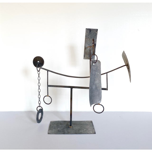 Abstract Mid-20th Century Modernist/Constructivist Sculpture For Sale - Image 3 of 7