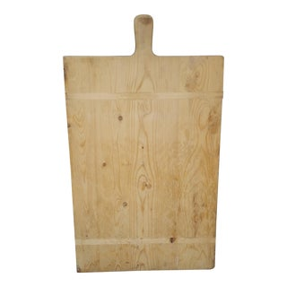19th Century Boulangerie French Bread Board