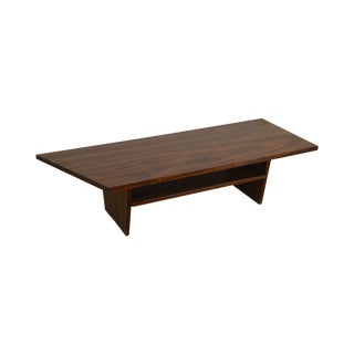 George Nakashima Rosewood Coffee Table For Sale