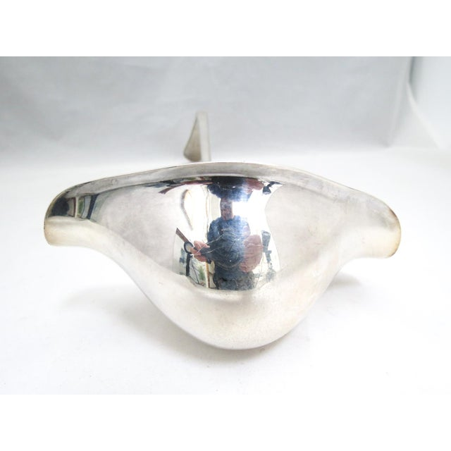 """Traditional International Silver """"Hutton"""" Silver Punch Ladle For Sale - Image 3 of 6"""