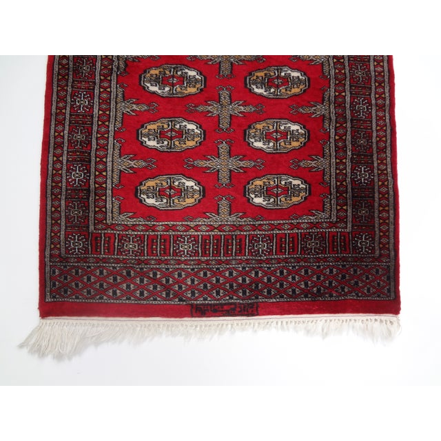 """Hand-Knotted Red Runner Rug - 2'6 x 6'4"""" - Image 5 of 11"""