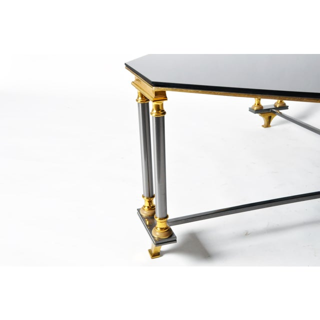1960s 1960s Hollywood Regency Maison Jansen Style Low Table For Sale - Image 5 of 10