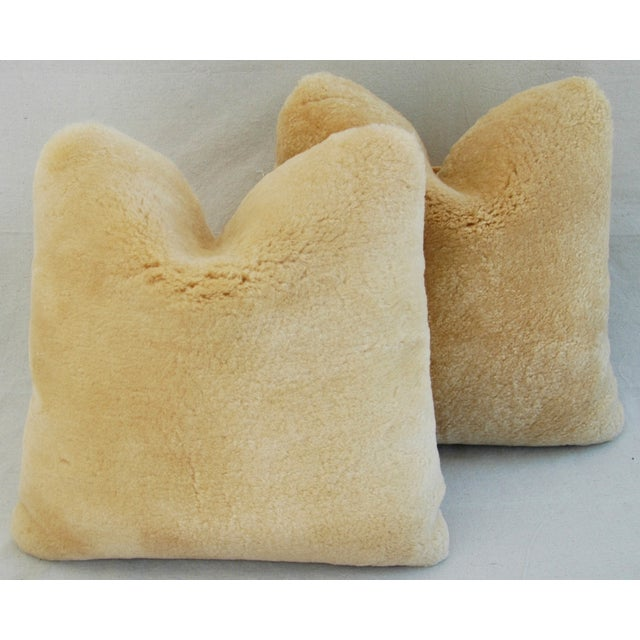 Pierre Frey Plush Lambswool Pillows - A Pair - Image 8 of 10