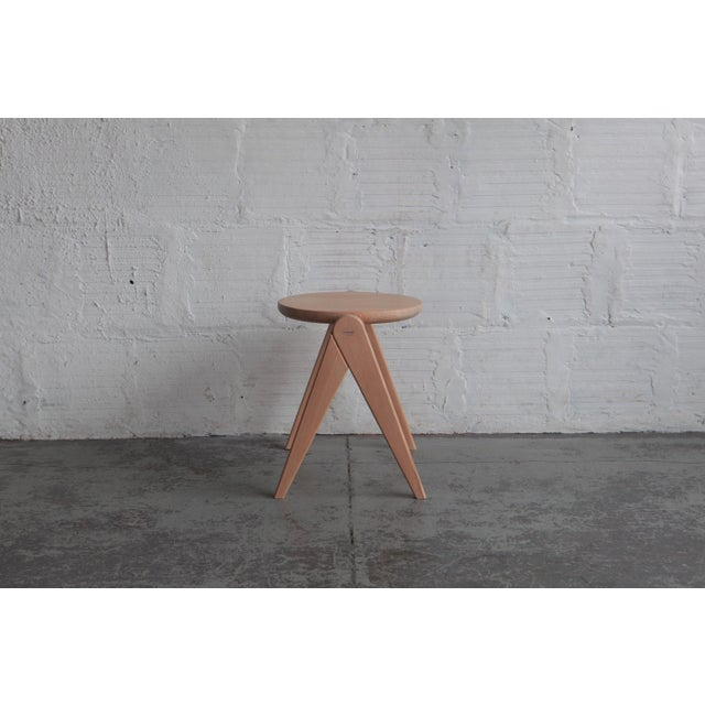 2010s Mid-Century Modern TGM Stool For Sale - Image 5 of 5