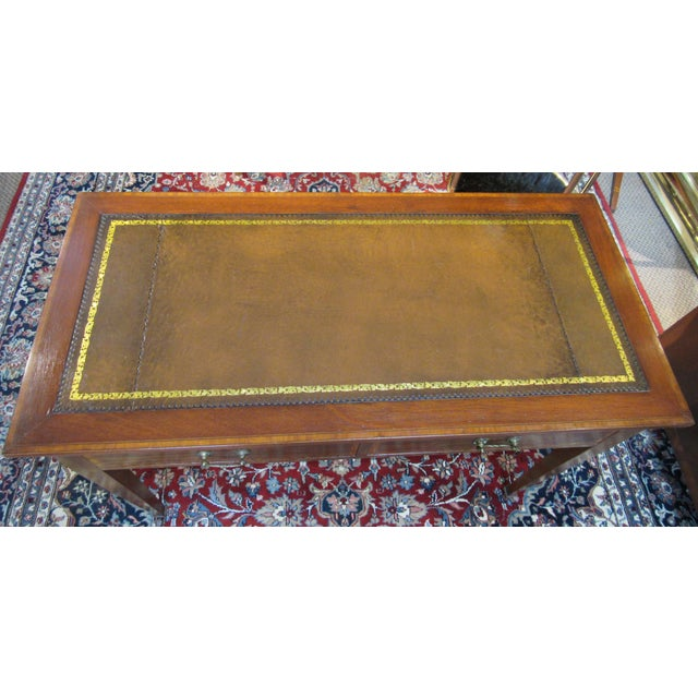 English 19th Century English Writing Desk For Sale - Image 3 of 6