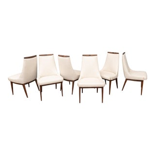 Mid-Century Modern Kipp Stewart Dining Chairs For Sale
