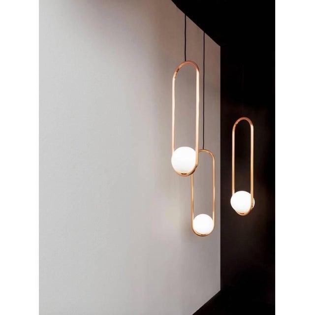 Contemporary Matthew McCormick Studio Mila 7 Chandelier Light For Sale - Image 3 of 5
