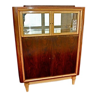 French Art Deco Bar/Cabinet For Sale