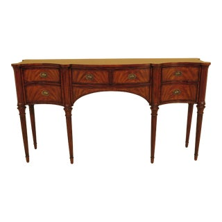 Federal Theodore Alexander Inlaid Mahogany Sideboard For Sale