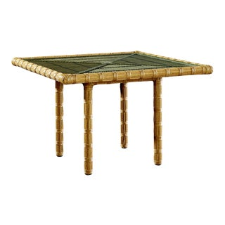 Celerie Kemble - Rafter Outdoor Square Dining Table For Sale