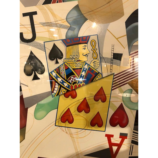 'Black Jack' Print Signed by Yankel Ginzburg For Sale In New York - Image 6 of 8